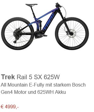 Trek Rail 5 SX 625W