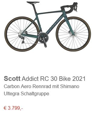 Scott Addict RC 30 Bike prism green purple 2021