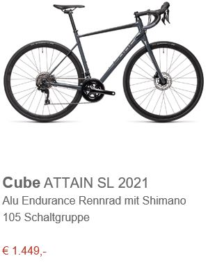 Cube ATTAIN SL 2021