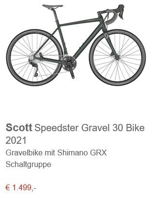 Scott Speedster Gravel 30 Bike 2021